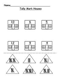 Tally Mark Houses.pdf | Math | Pinterest | Tally marks, Maths and ...