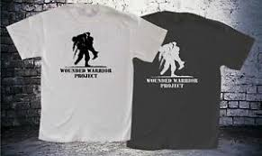 Details About Wounded Warrior Project Mens Balck And White Tee T Shirt