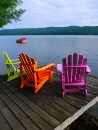 bright coloured furniture. Adirondack Chairs. Don\u0027t You Just Love These Colors Of Lime Green, Orange And Purple? Bright Coloured Furniture