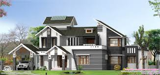 Small Picture Modern 5 Bedroom House Designs And Home Design Kerala 2017 Images
