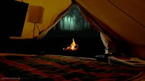 Camping in the woods at night Rest Virtual Camping With Campfire Crickets Owls And Other Relaxing Forest Nature Sounds At Night Youtube Youtube Virtual Camping With Campfire Crickets Owls And Other Relaxing