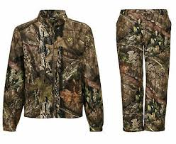 Jacket Pant Sets Scent Blocker