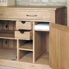 atlas chunky oak hidden home. Baumhaus Mobel Oak Hidden Home Office Furniture Atlas Chunky T