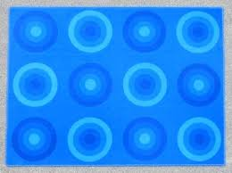 blue circle rug vintage blue circle rug by for x 1 dark blue round rug