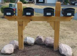 wood mailbox posts. Picture Wood Mailbox Posts