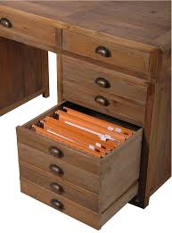 blaine kneehole desk with multi drawers