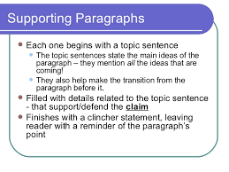 paragraph essay construction 8 supporting paragraphs