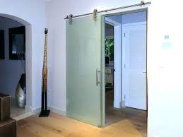 interior glass barn doors frosted glass sliding barn doors all frosted glass barn door home design