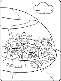 Small Picture Little einsteins coloring pages in rocket ColoringStar
