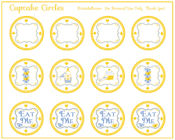 alice in wonderland tea party printables from printabelle pin it