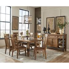 old brick furniture. Intercon River 7 Piece Dining Table And Chair Set Old Brick Furniture Or More Room Sets