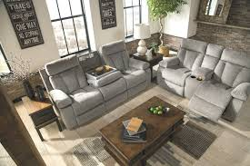 ashley furniture rec sofa w drop down table