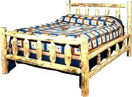 log bed frame queen – sebastian-delgado