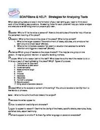 image result for soapstone english google  soapstone text analysis strategy easy printable