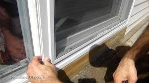 ideas of easy way to fix screen door that won t slide you brilliant patio screen repair kit