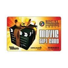 10 Regal Entertainment Group Gift Card Discount Movie