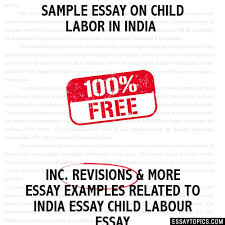 an essay on child labour