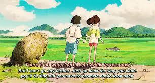 Spirited Away Quotes Custom Disney Hayao Miyazaki Anime Spirited Away Disney Gif Scenery Chihiro