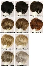 Wheat Hair Color Chart Abigail Lf Medium Wig