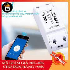 Công Tắc Thông Minh Son Off Basic 10A (Wifi-3G-4G)
