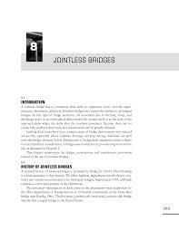 Bridge Bearing Design Guide 8 Jointless Bridges Design Guide For Bridges For Service