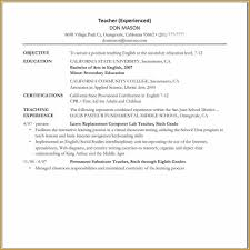 Combination Resume Template Combination Resume Personnel Officer
