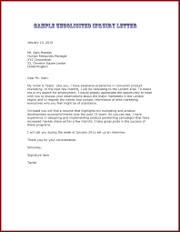 18 unsolicited application letter example sendletters inside unsolicited cover letter example unsolicited cover letter template