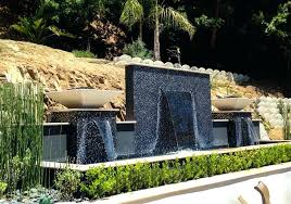full size of diy glass water wall feature indoor fountain outdoor features and ponds whole walls