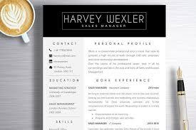 Resume Template Harvey Creativework247 Resume Templates