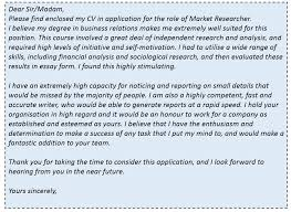 3 Sample Cover Letter Templates To You Started Best Solutions Of
