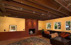 Unfinished basement ceiling ideas Budget Unfinished Basement Ceiling Lighting Ideas Mystic Ireland Unfinished Basement Ceiling Lighting Ideas Best Unfinished