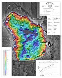 Badgers Depth Chart Badger Reservoir Bathymetric Chart
