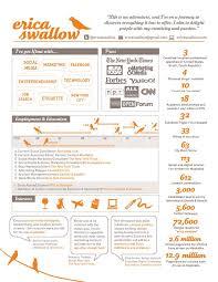 Achievement Resumes Resume Infographic Ericaswallowsinfographicresume Png