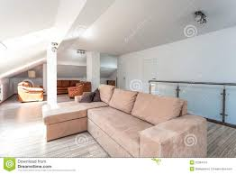 bright space living room upstairs stock image image 32384413
