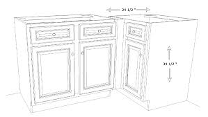 Dimensions Of Kitchen Cabinets Kitchen Cabinet Dimensions Phidesignus