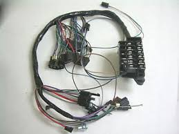 1964 chevy impala ss under dash wiring harness fusebox mt at image is loading 1964 chevy impala ss under dash wiring harness
