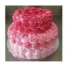 Rose Cake 2 Tiers Ubiy Cakes