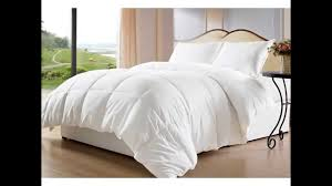review white down alternative comforterduvet cover insert kingcal king white