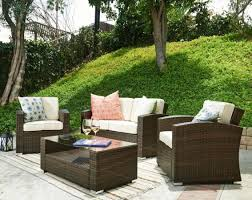 furniture desig for black wicker patio furniture ideas wonderful