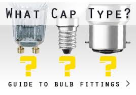 type of lighting. Read Our Cap Fitting Guide Type Of Lighting T