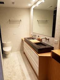 Bamboo Vanity Bathroom Mesmerizing Bamboo Plywood Wrapped Godmorgon For Modern Bathroom Vanity IKEA