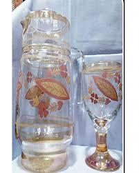 beautiful fl designer 6 glasses and jug water set 7 piece design 3 of
