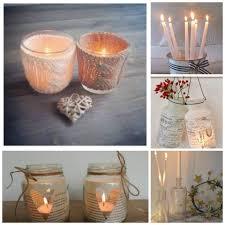 Hermosas velas artesanales decoradas con hilos , telas, para decorar y que  tu casa tenga