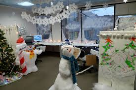 office christmas theme. Call Center Cubicle Christmas Design Ideas 1 Outbound Office Theme