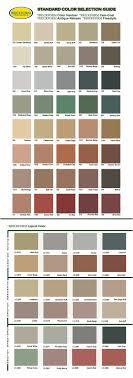 Brickform Acid Stain Color Chart Decorative Concrete Color Chart Brickform Color Chart