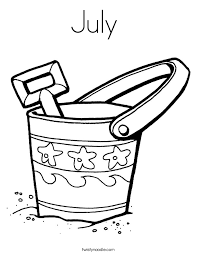 Small Picture July Coloring Page Twisty Noodle