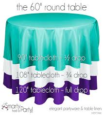 what size tablecloth for 60 round floor length round tablecloths awesome tablecloth size guide tables smarty