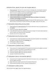 essay planning template