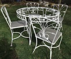 vintage wrought iron garden furniture. Full Size Of Wrought Iron Table And Chairs Garden Patio 6 Vintage Furniture T