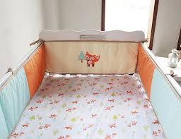image of fox baby bedding